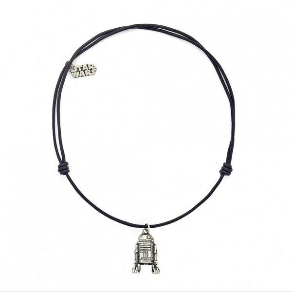 Halskette R2-D2 aus Leder