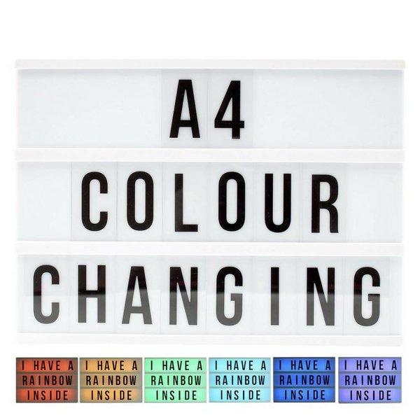 LIGHTBOX A4 | LED Multi Colours
