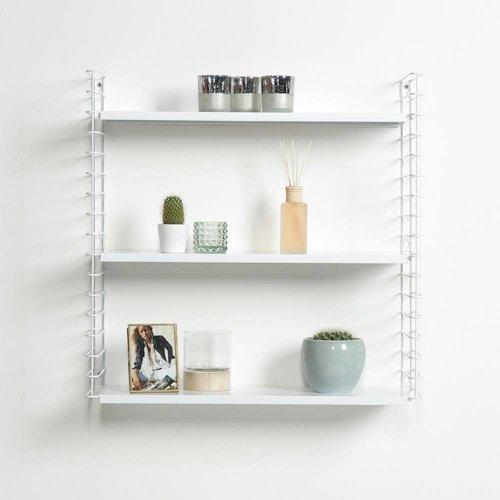 METALTEX TOMADO Bücherregal | Weiß