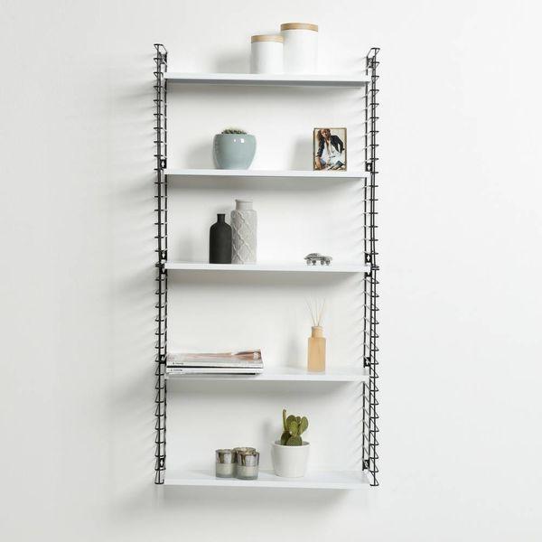 TOMADO Bücherregal in Schwarz & Weiß
