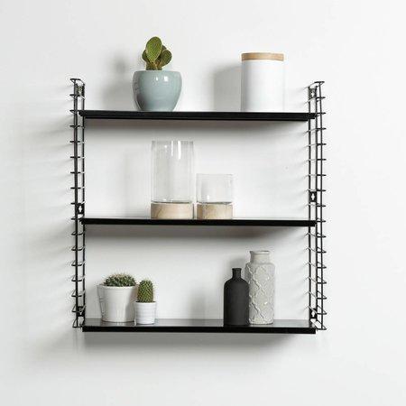 METALTEX TOMADO Bookshelf | Black