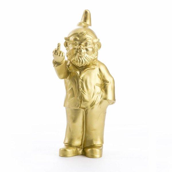 """""""Sponti"""" Fuck You Gnome in Gold"""