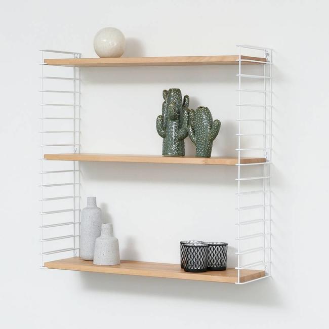 Bookshelf White Wood
