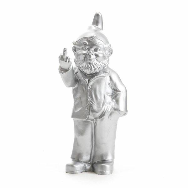 """""""Sponti"""" Fuck You Gnome in Silver"""