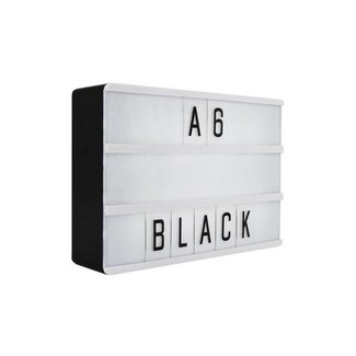 LOCOMOCEAN LIGHTBOX A6 | Black