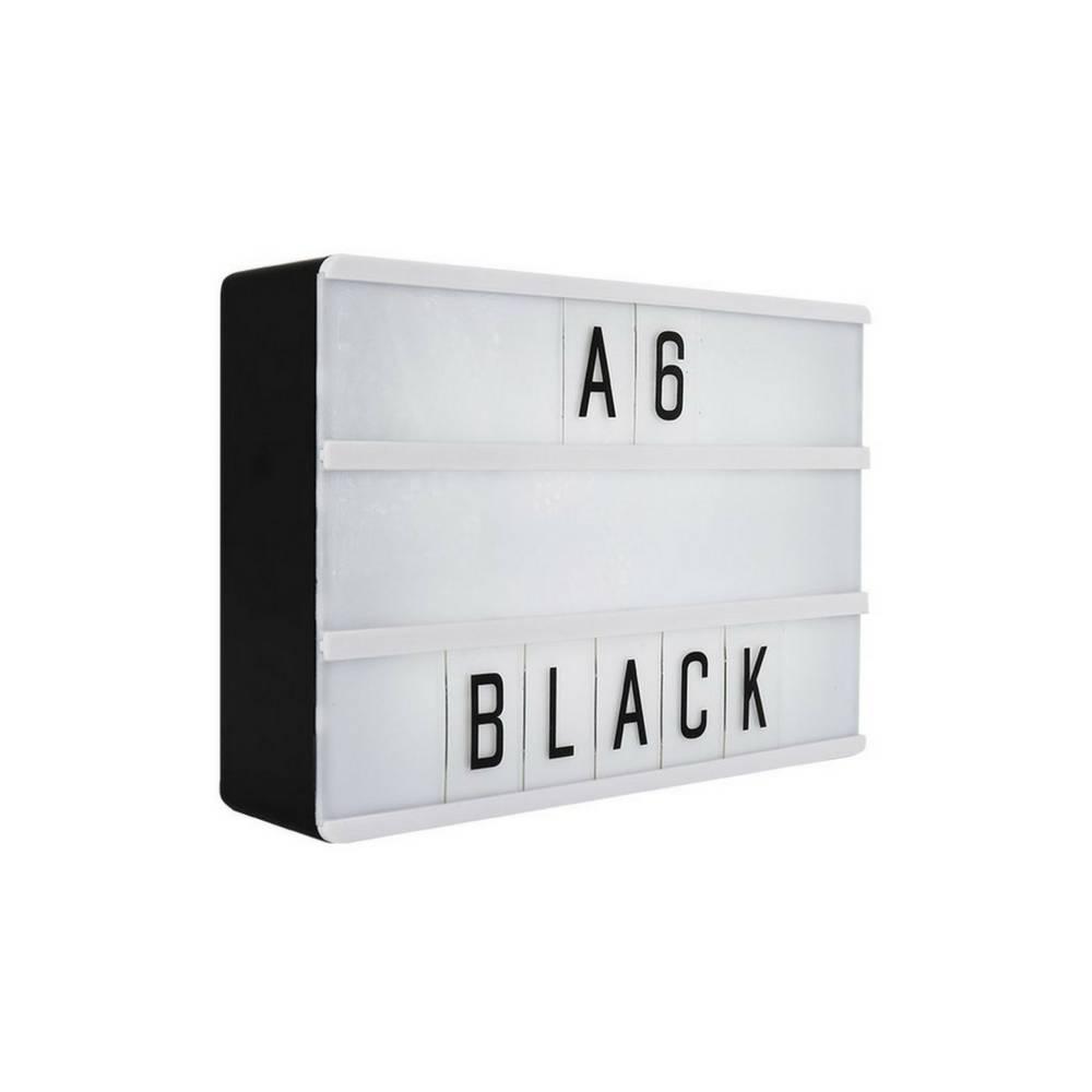 locomocean lightbox a6 magnetisch mini buchstaben leuchtkasten mit micro usb input design. Black Bedroom Furniture Sets. Home Design Ideas
