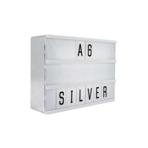LOCOMOCEAN LIGHTBOX A6 | Silver