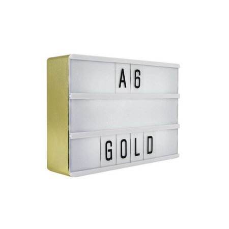 LOCOMOCEAN LIGHTBOX A6 | Gold