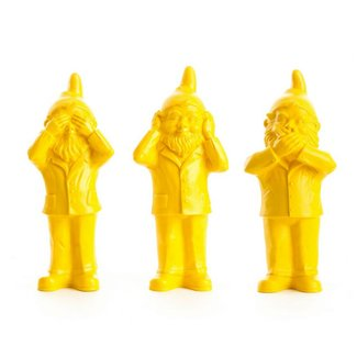 OTTMAR HÖRL Secret Gnomes | Yellow