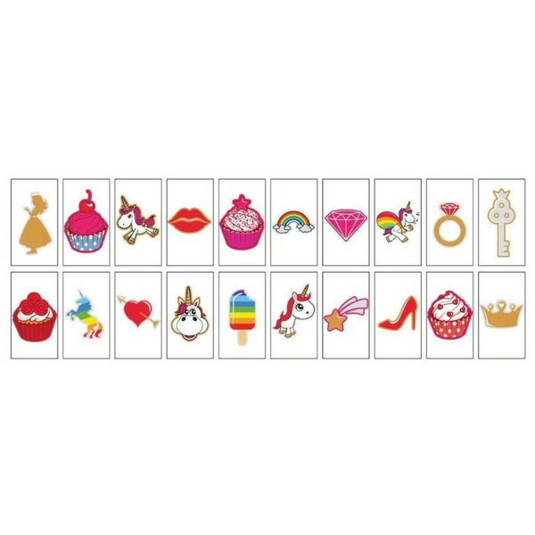 "LIGHTBOX 20-Pack ""Unicorns & Cupcakes"""