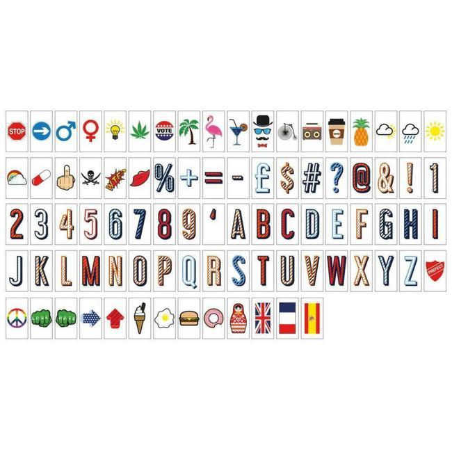 LOCOMOCEAN Lightbox A5 | Symbols Pack