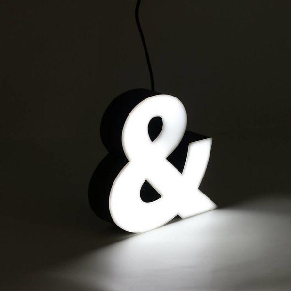 LED Sign | Ampersand