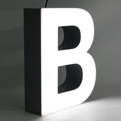 Quizzy LED Buchstabe B