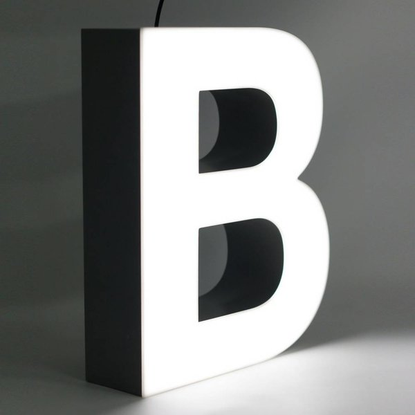 Quizzy LED Letter B