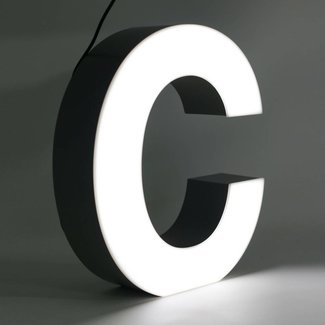 Quizzy LED Lettre C