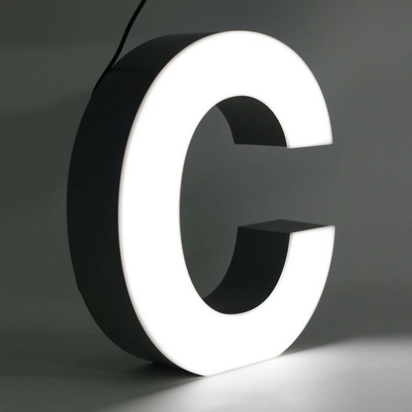 Quizzy LED Buchstabe C