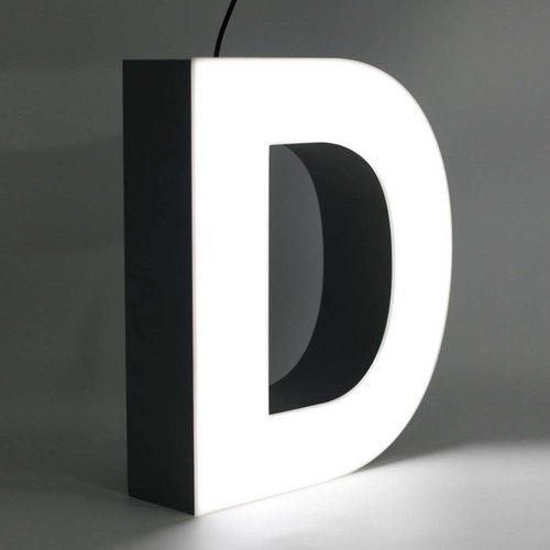 Quizzy LED Letter D
