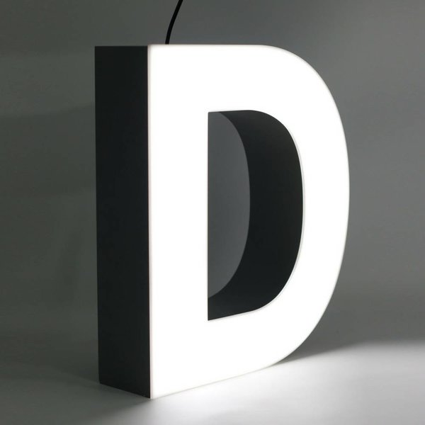 Quizzy LED Buchstabe D