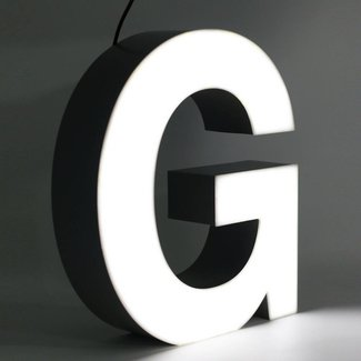 Quizzy LED Letter G