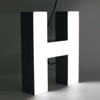 Quizzy LED Lettre H