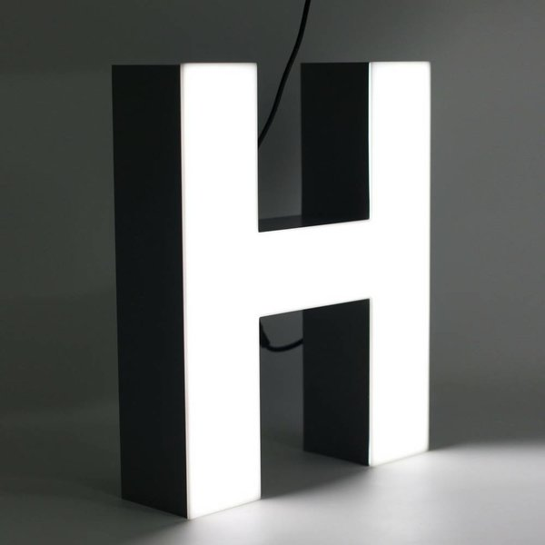 Quizzy LED Buchstabe H