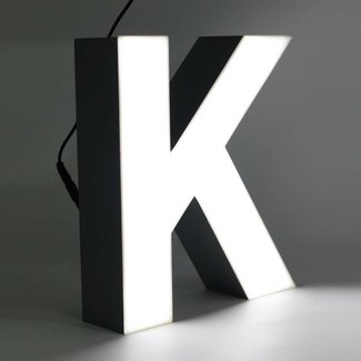 Quizzy LED Buchstabe K