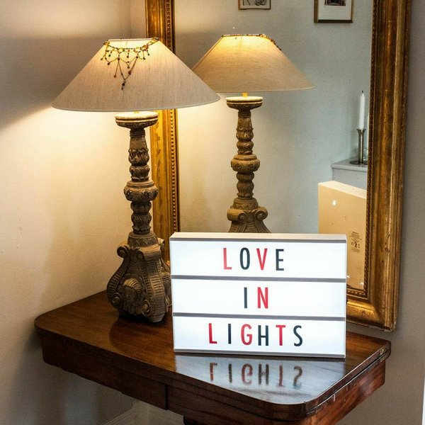 LIGHTBOX A3 - Letter Light Box with Micro USB Input