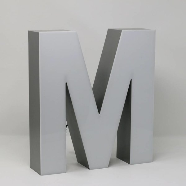 Quizzy LED Buchstabe M