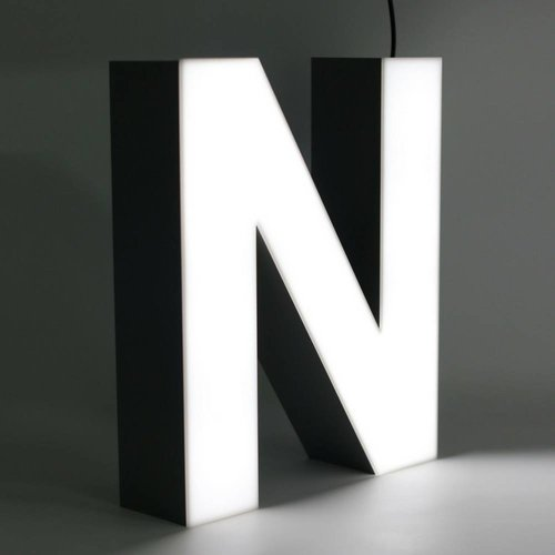 Quizzy LED Lettre N
