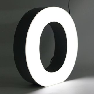 Quizzy LED Letter O