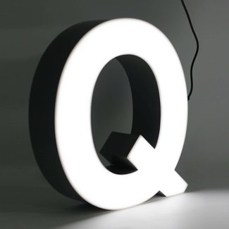 Quizzy LED Buchstabe Q
