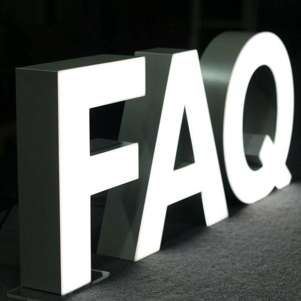 Quizzy LED Letter Q