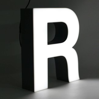 Quizzy LED Letter R