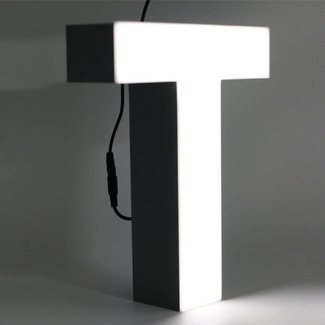 Quizzy LED Letter T