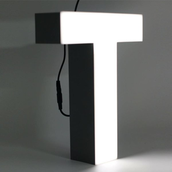 Quizzy LED Buchstabe T