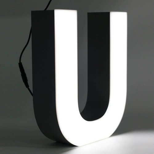 Quizzy LED Lettre U