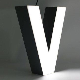 Quizzy LED Lettre V