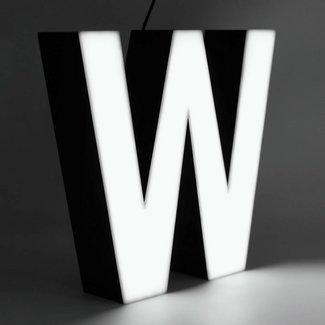 Quizzy LED Buchstabe W