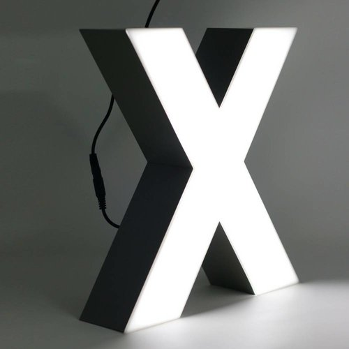 Quizzy LED Lettre X