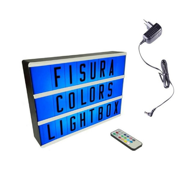 Lightbox A4 | Color Changing + Remote Control