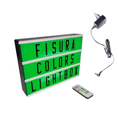 FISURA Lightbox A4   Color Changing + Remote