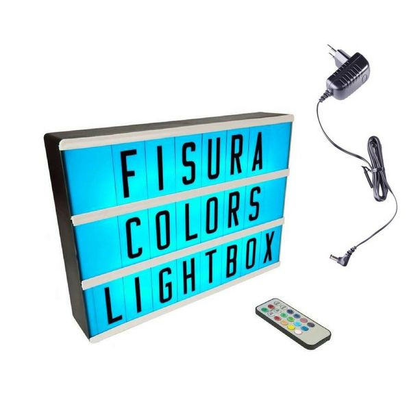 Lightbox A4 | Color Changing + Fernbedienung