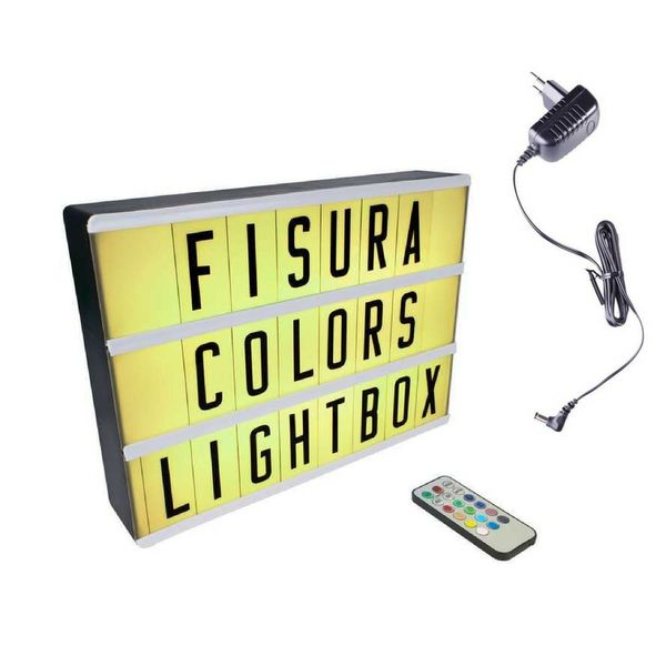 Lightbox A4 | Color Changing + Afstandsbediening