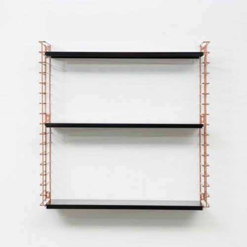METALTEX TOMADO Bookshelf | Copper & Black