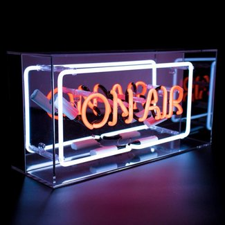 "LOCOMOCEAN NEON ""On Air"" Box"