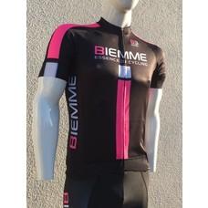 Biemme Shirt korte mouwen PRO  zwart fluo pink