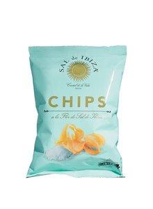 Sal de Ibiza Chips met Fleur de Sel kleine zak 45g