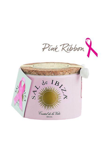 Roze Pink Ribbon Keramische Pot Fleur De Sel Met Rozenblaadjes