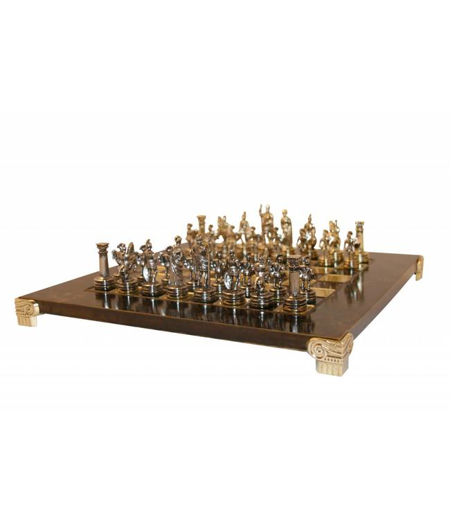 schach set griechisch r mischen. Black Bedroom Furniture Sets. Home Design Ideas