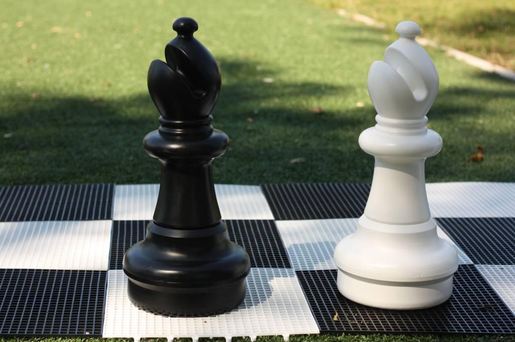 xxl schachfigur l ufer 54 cm weiss oder schwarz 2. Black Bedroom Furniture Sets. Home Design Ideas